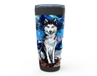Husky Night Viking Tumbler
