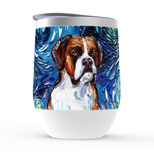 Load image into Gallery viewer, Boxer Night Stemless Wine Tumblers