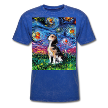 Load image into Gallery viewer, Beagle Night Unisex Classic T-Shirt - mineral royal