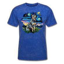 Load image into Gallery viewer, Blue Heeler Night Splash Unisex Classic T-Shirt - mineral royal