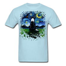 Load image into Gallery viewer, Border Collie Night 3 Splash Unisex Classic T-Shirt - powder blue