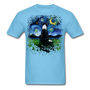 Border Collie Night 3 Splash Unisex Classic T-Shirt - aquatic blue