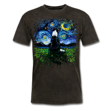 Load image into Gallery viewer, Border Collie Night 3 Splash Unisex Classic T-Shirt - mineral black