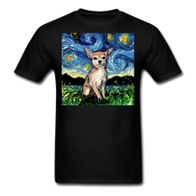 Load image into Gallery viewer, Chihuahua Night Unisex Classic T-Shirt - black