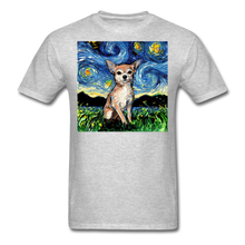 Load image into Gallery viewer, Chihuahua Night Unisex Classic T-Shirt - heather gray