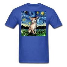 Load image into Gallery viewer, Chihuahua Night Unisex Classic T-Shirt - royal blue