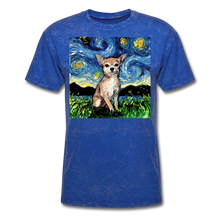 Load image into Gallery viewer, Chihuahua Night Unisex Classic T-Shirt - mineral royal