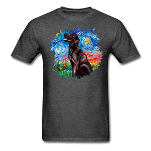 Chocolate Labrador Night Splash Unisex Classic T-Shirt - heather black