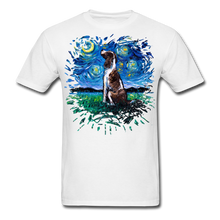 Load image into Gallery viewer, English Springer Spaniel Night Splash Unisex Classic T-Shirt - white