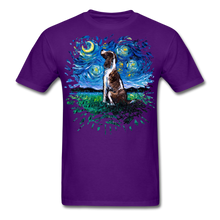 Load image into Gallery viewer, English Springer Spaniel Night Splash Unisex Classic T-Shirt - purple