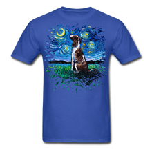 Load image into Gallery viewer, English Springer Spaniel Night Splash Unisex Classic T-Shirt - royal blue