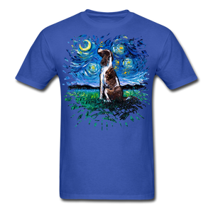 English Springer Spaniel Night Splash Unisex Classic T-Shirt - royal blue