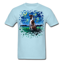 Load image into Gallery viewer, English Springer Spaniel Night Splash Unisex Classic T-Shirt - powder blue