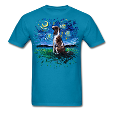 Load image into Gallery viewer, English Springer Spaniel Night Splash Unisex Classic T-Shirt - turquoise