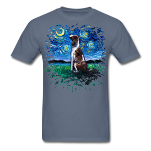 English Springer Spaniel Night Splash Unisex Classic T-Shirt - denim