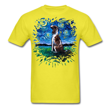 Load image into Gallery viewer, English Springer Spaniel Night Splash Unisex Classic T-Shirt - yellow