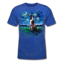 Load image into Gallery viewer, English Springer Spaniel Night Splash Unisex Classic T-Shirt - mineral royal