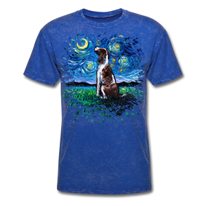 English Springer Spaniel Night Splash Unisex Classic T-Shirt - mineral royal