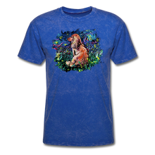 Load image into Gallery viewer, Dachshund Night Splash Unisex Classic T-Shirt - mineral royal