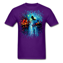 Load image into Gallery viewer, Flight of the Dragon Splash Unisex Classic T-Shirt - purple