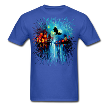 Load image into Gallery viewer, Flight of the Dragon Splash Unisex Classic T-Shirt - royal blue