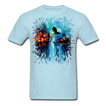 Load image into Gallery viewer, Flight of the Dragon Splash Unisex Classic T-Shirt - powder blue