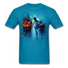 Load image into Gallery viewer, Flight of the Dragon Splash Unisex Classic T-Shirt - turquoise
