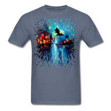 Load image into Gallery viewer, Flight of the Dragon Splash Unisex Classic T-Shirt - denim