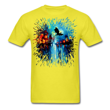 Load image into Gallery viewer, Flight of the Dragon Splash Unisex Classic T-Shirt - yellow