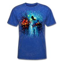 Load image into Gallery viewer, Flight of the Dragon Splash Unisex Classic T-Shirt - mineral royal