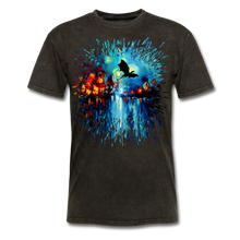 Load image into Gallery viewer, Flight of the Dragon Splash Unisex Classic T-Shirt - mineral black