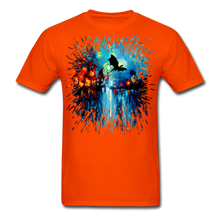 Load image into Gallery viewer, Flight of the Dragon Splash Unisex Classic T-Shirt - orange