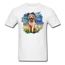 Load image into Gallery viewer, Goldendoodle Night Splash Unisex Classic T-Shirt - white