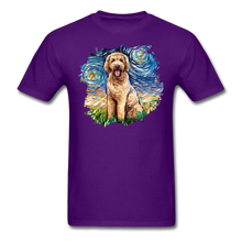 Load image into Gallery viewer, Goldendoodle Night Splash Unisex Classic T-Shirt - purple