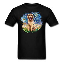 Load image into Gallery viewer, Goldendoodle Night Splash Unisex Classic T-Shirt - black