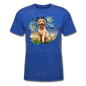 Goldendoodle Night Splash Unisex Classic T-Shirt - mineral royal