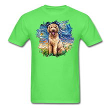 Load image into Gallery viewer, Goldendoodle Night Splash Unisex Classic T-Shirt - kiwi
