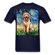 Goldendoodle Night Unisex Classic T-Shirt - navy