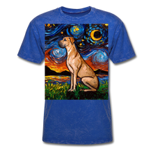 Load image into Gallery viewer, Fawn Great Dane Night Unisex Classic T-Shirt - mineral royal