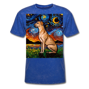 Fawn Great Dane Night Unisex Classic T-Shirt - mineral royal