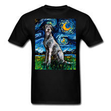 Load image into Gallery viewer, Irish Wolfhound Night Unisex Classic T-Shirt - black