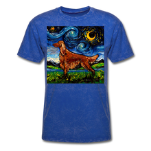 Load image into Gallery viewer, Irish Setter Night Unisex Classic T-Shirt - mineral royal