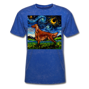 Irish Setter Night Unisex Classic T-Shirt - mineral royal