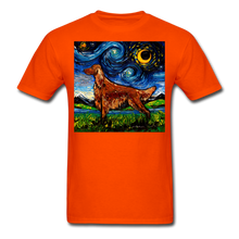 Load image into Gallery viewer, Irish Setter Night Unisex Classic T-Shirt - orange