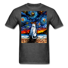 Load image into Gallery viewer, Jack Russell Terrier Night 2 Unisex Classic T-Shirt - heather black