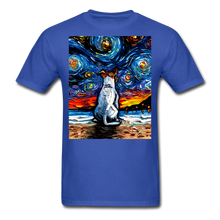 Load image into Gallery viewer, Jack Russell Terrier Night 2 Unisex Classic T-Shirt - royal blue