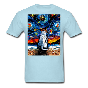Jack Russell Terrier Night 2 Unisex Classic T-Shirt - powder blue