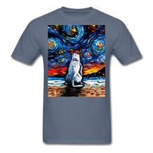 Load image into Gallery viewer, Jack Russell Terrier Night 2 Unisex Classic T-Shirt - denim
