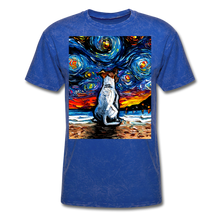 Load image into Gallery viewer, Jack Russell Terrier Night 2 Unisex Classic T-Shirt - mineral royal
