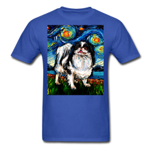 Load image into Gallery viewer, Japanese Chin Night Unisex Classic T-Shirt - royal blue